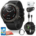 Garmin fenix 6X Multisport GPS Smartwatch (Gray) Charger Bundle