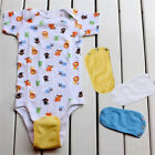 Infant Toddler Baby Romper Bodysuit Multicolor Supplies Jumpsuit One Piece KV