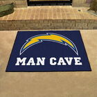 "Los Angeles Chargers Man Cave Area Rug Choose 19""x 30"" 34""x 43"" 5'x6' 5'x8' $109.9 USD on eBay"