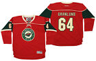 Reebok NHL Youth Minnesota Wild Mikael Granlund #64 Home Premier Jersey, Red $32.5 USD on eBay