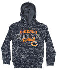 Outerstuff NFL Girls Kids Youth (4-16) Chicago Bears Burnout Fleece Hoodie, Navy $17.99 USD on eBay