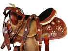 USED RODEO SADDLE 16 15 PLEASURE SHOW HORSE TRAIL WESTERN BARREL RACING TACK SET