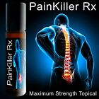 Maximum Strength Pain Killer RX Roll On Muscle Rub and nerve damage $10.99 USD on eBay