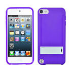 Apple iPod Touch 5th Gen Silicone Slim Shockproof Kickstand Case Cover
