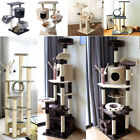 Small/Medium/Large Cat Tree Activity Centre Towers Scratching Post Sisal w/ Toys