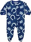 Outerstuff NFL Football Infant Indianapolis Colts Printed Logo Sleepwear $7.99 USD on eBay