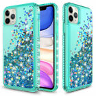 For iPhone 11 / Pro / Max Glitter Liquid Quicksand Shockproof Phone Case Cover