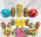 15 Plastic Sweet Jars, 1 tong, 1 scoop, 100 bags for Truly Sweet Candy Buffet