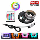 Kyпить 1/2M RGB LED Light Strip Bar TV Room Background Computer Decor USB Remote Contro на еВаy.соm