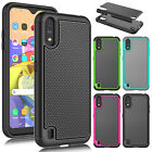For Samsung Galaxy A01 Shockproof Phone Case Cover Hybrid Rugged Rubber Shell