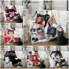Star ELVIS Presley 3D Print Sherpa Blanket Sofa Couch Quilt Cover throw blanket