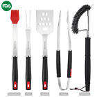 Outdoor Barbecue Tool Set / Cooking Utensils / Grill Cleaner / Backing Pad Mat