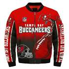 New Tampa Bay Buccaneers Jacket MA1 Flight Bomber Thicken Coat Football Outwear