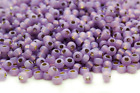 Miyuki Round Rocailles 6/0 Silver Lined Lavender Seed Bead RR-574