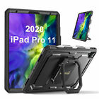 "Case for iPad Pro 11"" 2020/2018 Cover Rotating Shockproof Stand w/ Pencil Holder"