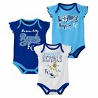 Outerstuff MLB Baseball Infants Kansas City Royals 3 pack Creeper Set on Ebay