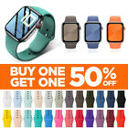 Silicone Band Strap for Apple Watch Series 1/2/3/4/5 iWatch Sports 38/42/40/44mm image