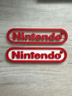 Внешний вид - Nintendo video game sign 3d printed 8.5in! videogame switch Accessory Revised!