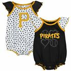Outerstuff MLB Infants Pittsburgh Pirates Play With Heart 2 pack Creeper Set on Ebay