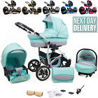Baby Pram Buggy Car Seat 3 in 1 Travel System Pushchair Stroller New-born