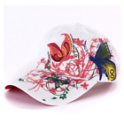 AKIZON Fashion Baseball Cap Hats For Women Snapback Butterflies Flowers FemaLe !