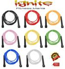 SPEED SKIPPING JUMP ROPE FITNESS CARDIO AEROBIC BOXING MMA GYM WEIGHT LOSE Train image