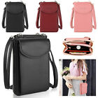 Women Small Crossbody Cell Phone Case Shoulder Bag Pouch Handbag Purse Wallet image