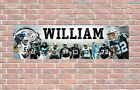 Carolina Panthers 2020 Roster Personalized Poster Customized Banner Frame Option $27.5 USD on eBay