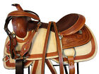 15 16 USED WESTERN SADDLE ROPING ROPER RANCH HORSE PLEASURE TOOLED LEATHER TACK