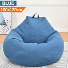 Bean Bag Cover Chair Couch Sofa Seat Indoor Home Garden Lazy Lounger Adults S