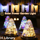 Solar Powered LED Lanterns Hanging Lights Outdoor Garden Night Lamps Waterproof