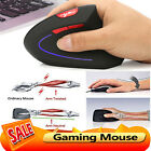 HXSJ-T22 Wireless 2.4G Gaming Mouse Ergonomic Vertical 2400DPI Optical Mice BEST