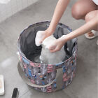 Unisex Collapsible Bucket For Soaking Feet, Portable Travel Foot Bath Tub New