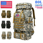 35L 80L Military Backpack Army Molle Tactical Pack Bag Hiking Climbing Gear Bag