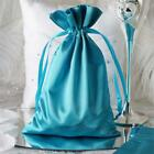 """6x9"""" SATIN BAGS with Pull String Wedding Party Gift Favors Pouches Wholesale"""