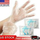 USA 100-2000PCS Healty Plastic Clear Gloves Food Cleaning Home Catering Beauty