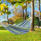 2 Person Travel Hammock Garden Camping Hanging Bed Swing Chair Bed Polyester