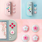 4Pc For Nintendo Switch/Lite Accessories Silicone Joystick Thumb Grip Caps Cover