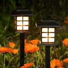 8Pcs Solar Garden Lawn Lamp Outdoor Yard Pathway Patio Fence LED Light Landscape