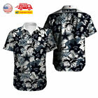 USA Dallas Cowboys Hawaiian Shirt Summer Beach Short Sleeve Button Up Tee Shirts