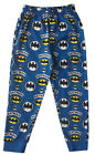 BOYS BATMAN LOUNGE PANTS PYJAMA TROUSERS