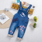 Toddler Baby Girls Clothes Summer Overalls Infant Casual Denim Jumpsuit Rpmpers