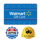 Gift Card Walmart Basic Blue Easy To Use Mail Delivery From $25 To $300 For Sale
