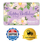 Birthday Gift Card Walmart Floral Easy To Use Mail Delivery From $25 To $300 For Sale
