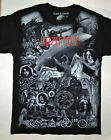 LED ZEPPELIN T-Shirt RARE Embroidered Logo Jimmy Page IV Robert Plant Hard Rock image