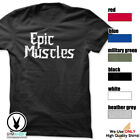 EPIC MUSCLES Gym Rabbit T Shirt Gym Fitness Workout Motivation Tee E831 image
