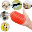 Pet Dog Cat Grooming Shower Bath Brush Rubber Silicone Anti Skid Massage Comb UK