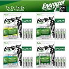 Energizer AA AAA Rechargeable Batteries 500 700 800 2000 2300 mAh Pre Charged