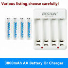 AA Rechargeable Batteries 3000mAh Or Smart Charger - for Xbox ONE S X Controller