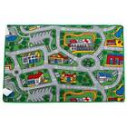 New Children's Rug Activity Play Mat City SUBURBS roads 100cm x 150cm